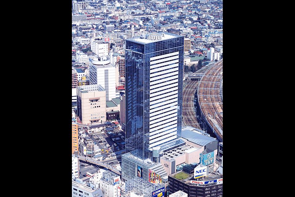 「アエル」仙台駅北部第一南地区第二種市街地再開発事業
