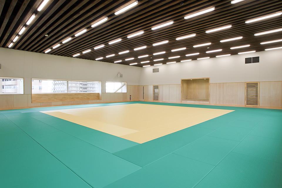 009-5F柔道場