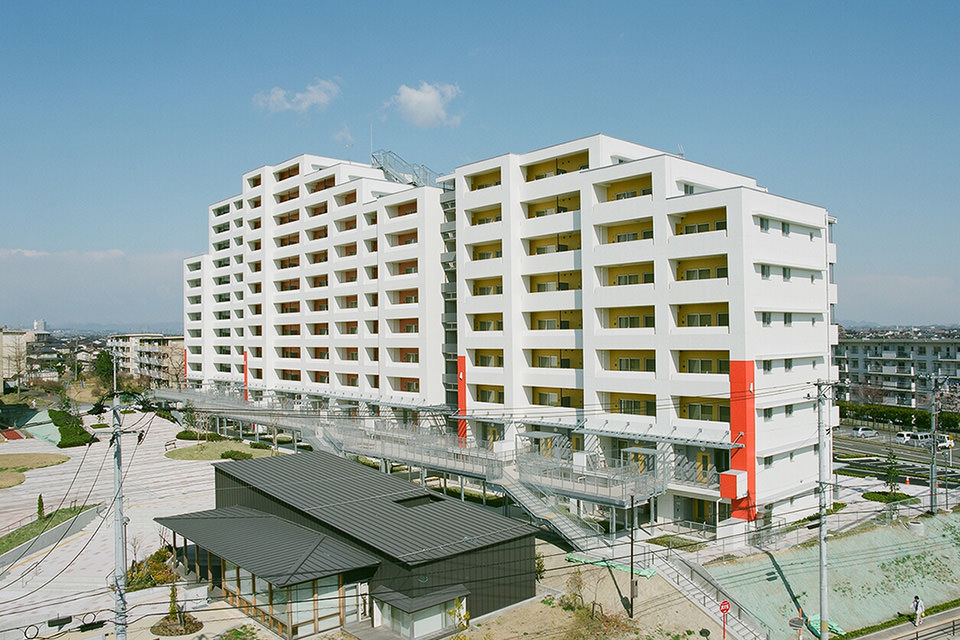 仙台市鶴ヶ谷第一市営住宅 第三工区