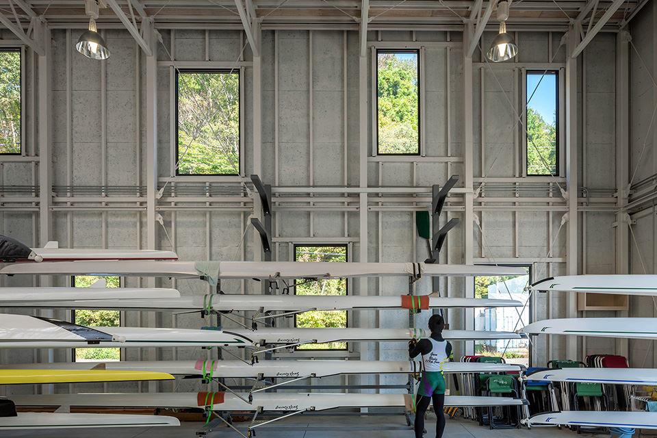 東北大学ボート艇庫