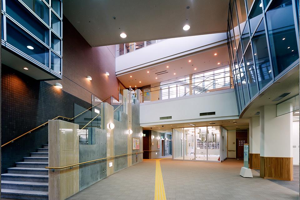 002-女川老健-1階エントランスホール