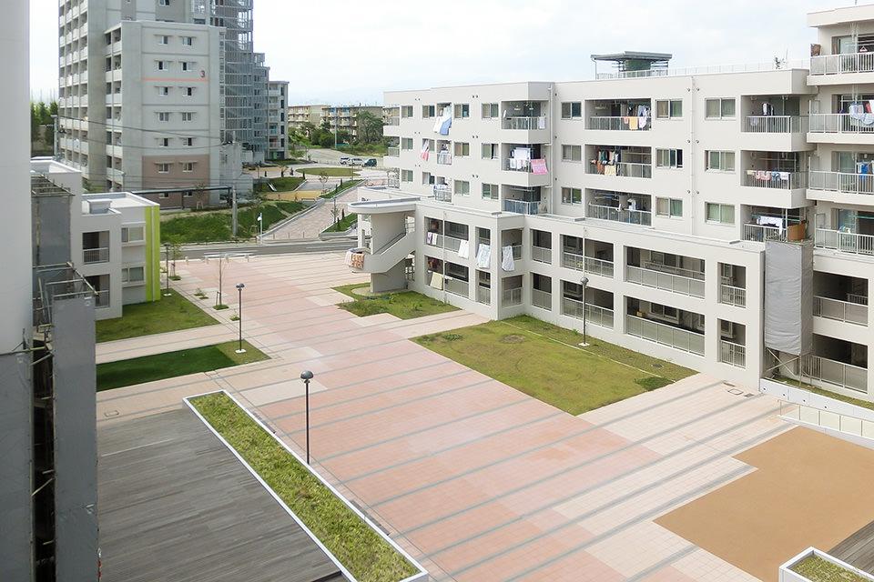 仙台市鶴ヶ谷市営住宅(第一工区)