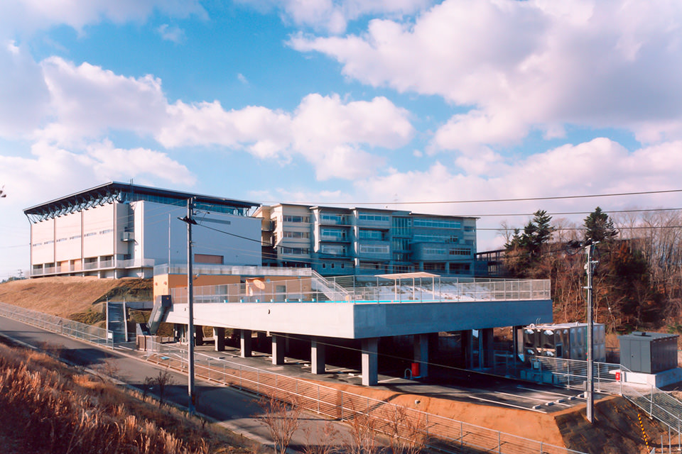 09-プール外観_北東面