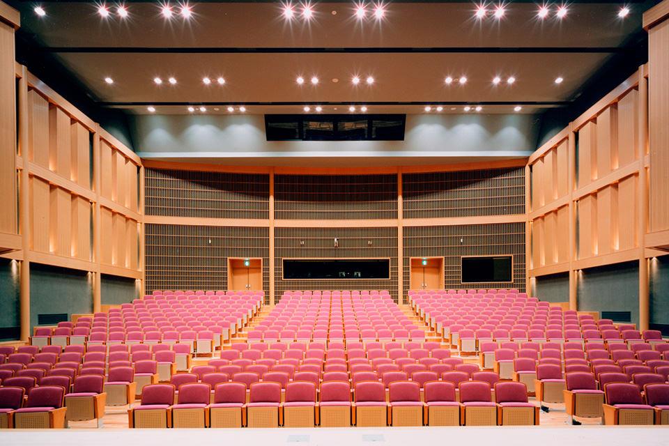 「伝国の杜」置賜文化ホール・米沢市上杉博物館