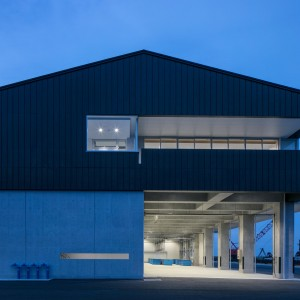 新地町釣師浜漁港荷捌き施設・漁具倉庫