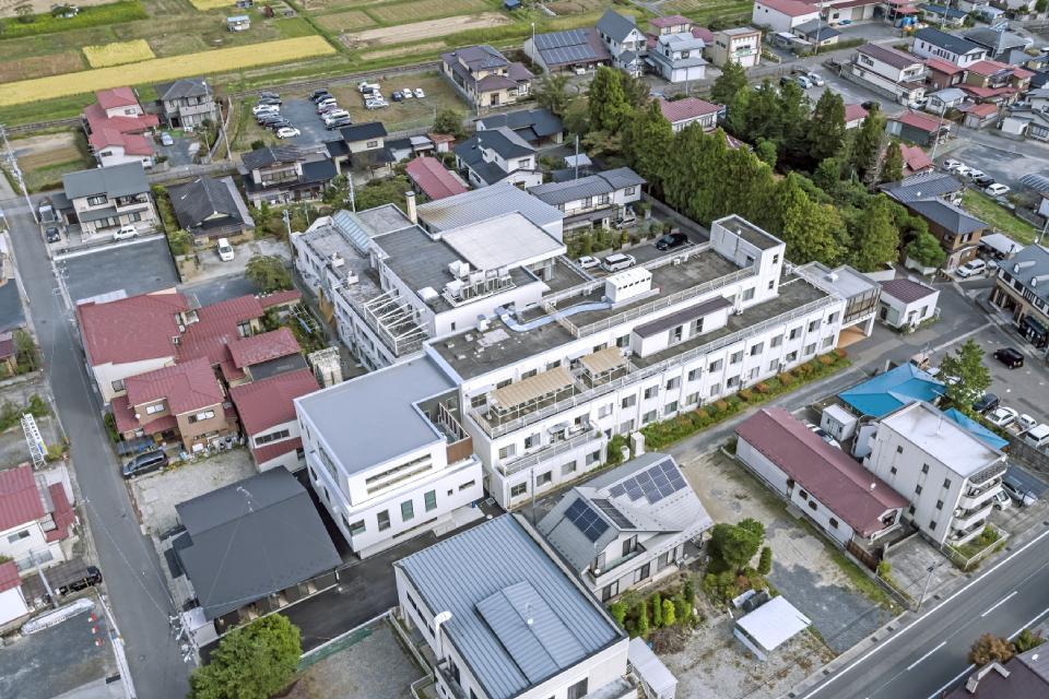 石橋病院旧棟西側増築