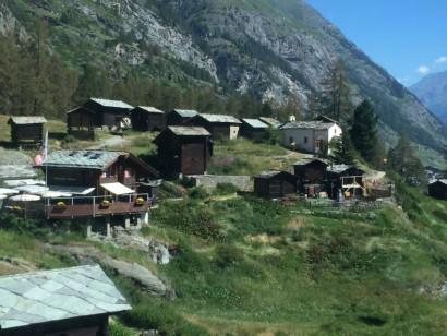 ツェルマットの村落