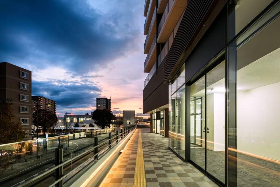 名取駅前地区第一種市街地再開発事業(グローリオレジデンス名取)